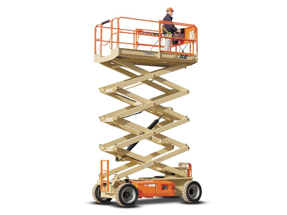 32 Ft Electric Scissor Lift | Wide | Miami