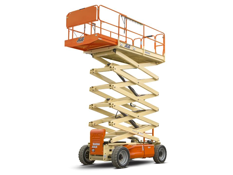 32 ft Scissor Lift | Rough Terrain