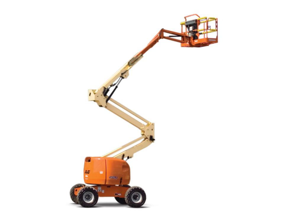 40 Ft Articulating Boom Lift   Electric
