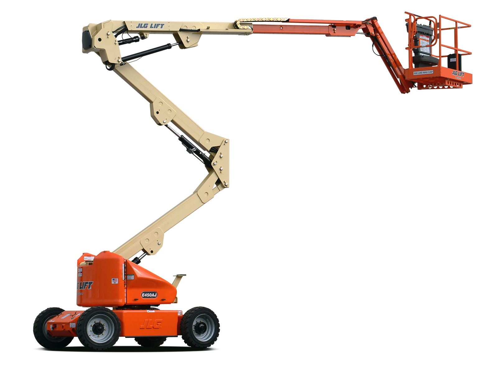 45 Articulating Boom Lift | Electric