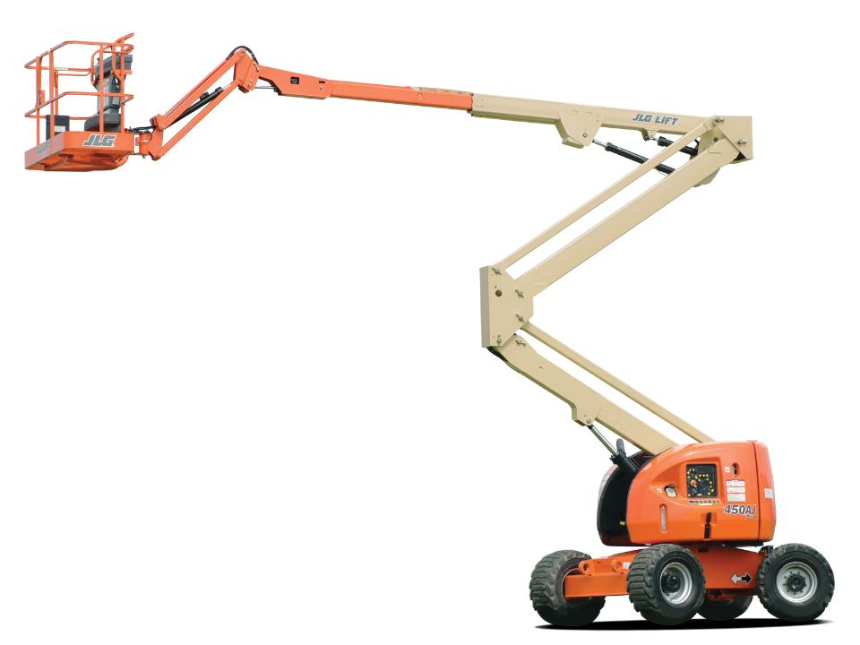 45 ft Articulating Boom Lift | Los Angeles, CA