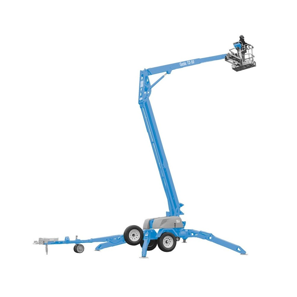 50 Ft Towable Articulating Boom Lift | Miami