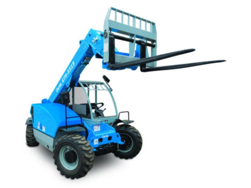 19 ft Forklift Telehandler 5,500 lb