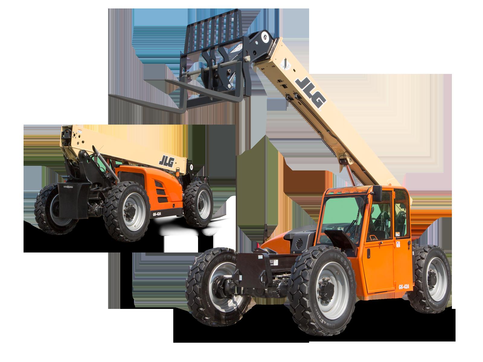 42 ft Forklift Telehandler 6,000 lb