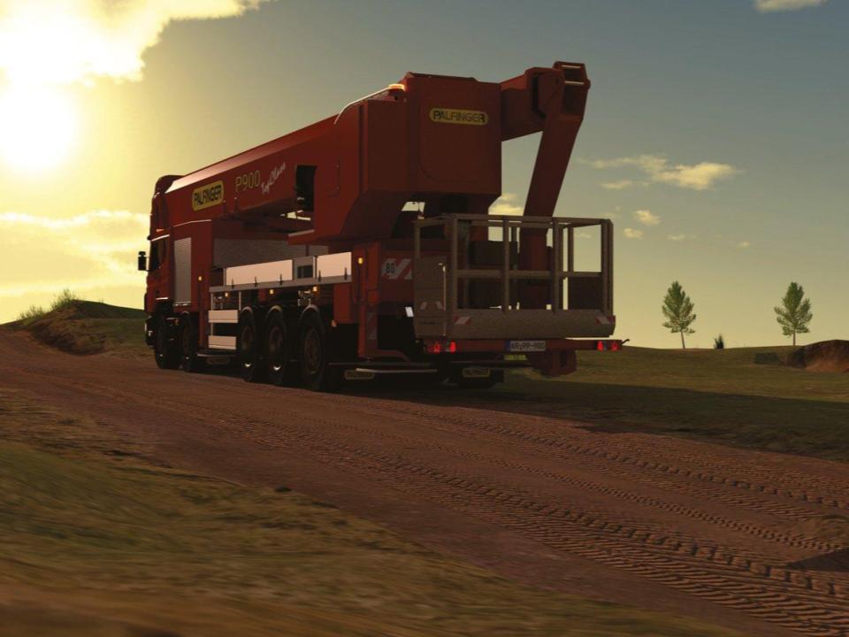 MEGA BOOM - 295 ft Articulating Boom Truck